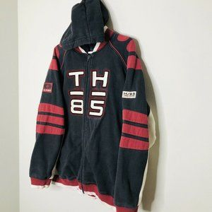 Vintage 90s Tommy Hilfiger KITH Spell Out Hoodie